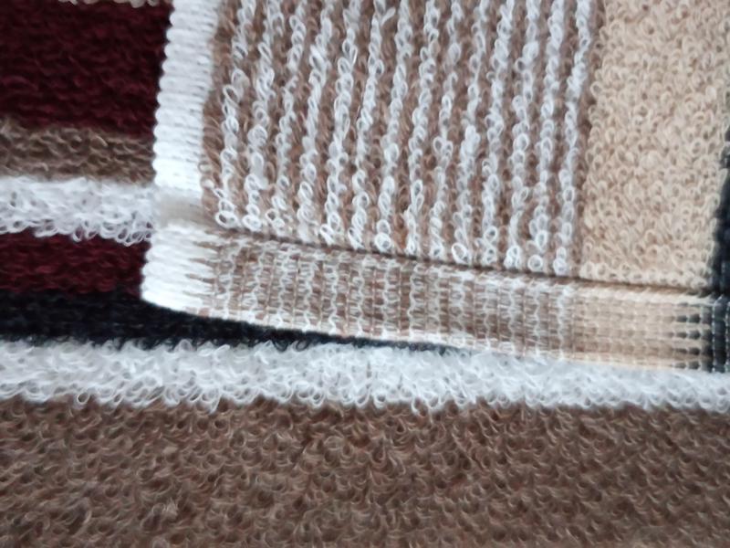 Полотенце лицевое махровое 100*50 коричневый - Фото 6
