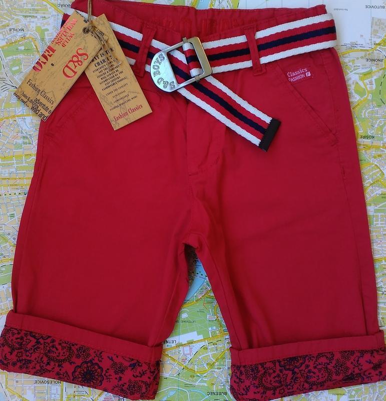 Котоновые шорты, бриджи на мальчика 6-8 лет венгрия