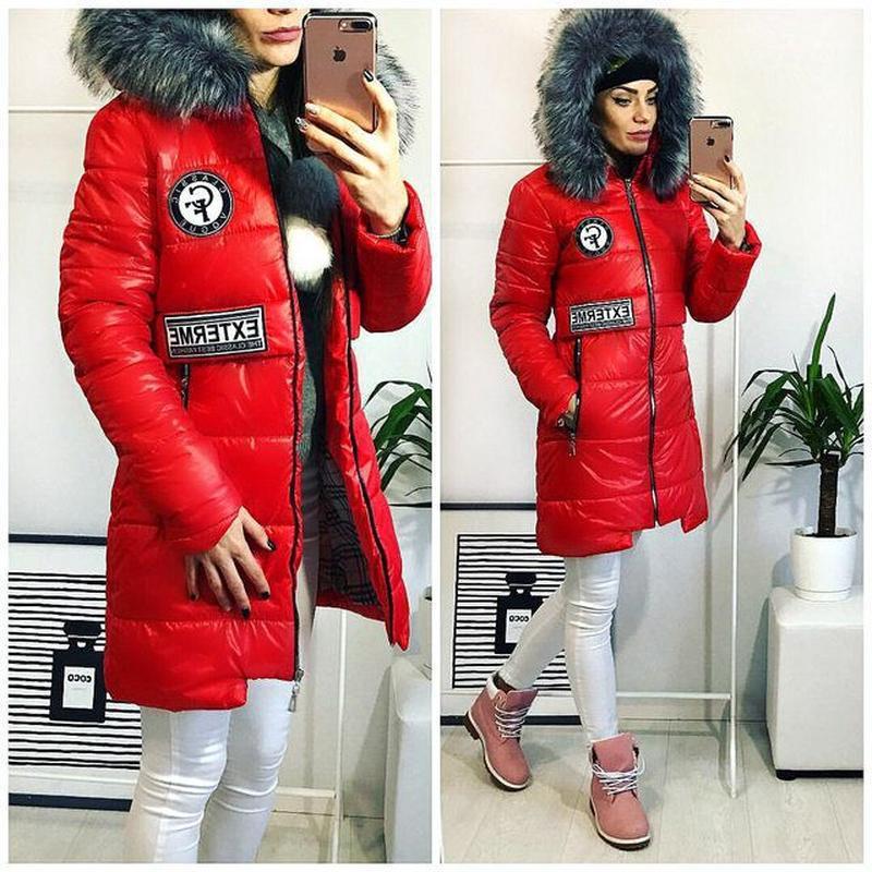 Женская зимняя куртка пальто размер 44-46