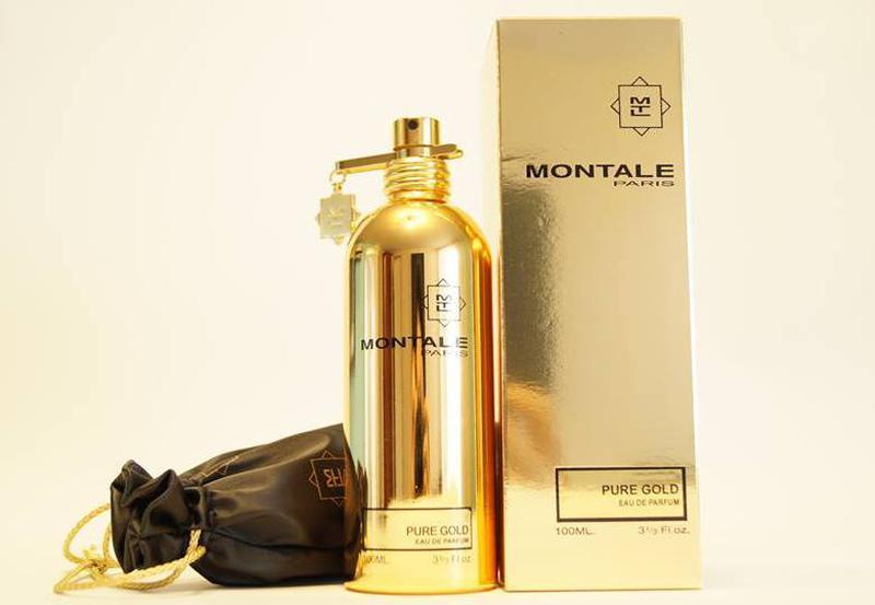Montale  Pure Gold_Оригинал Eau de Parfum  10 мл