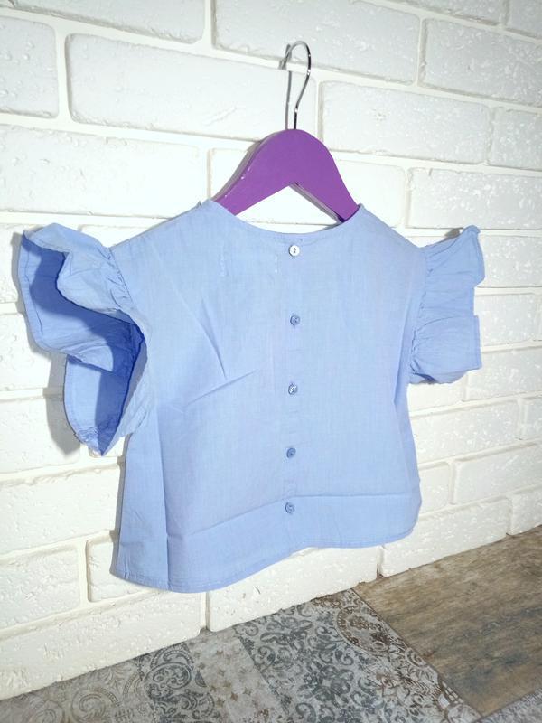 H&m топ на рост 92 и 98 см блуза футболка блузка - Фото 2