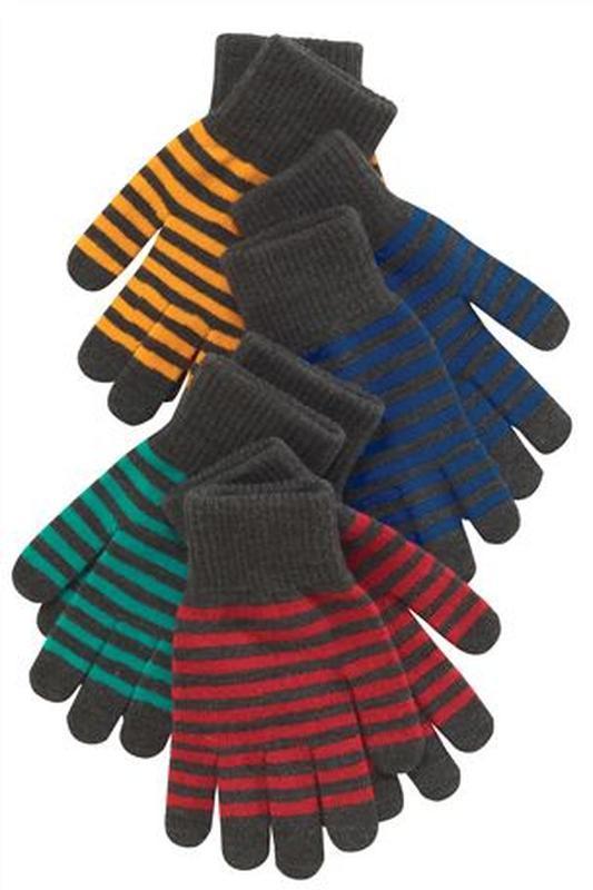 Перчатки next красные