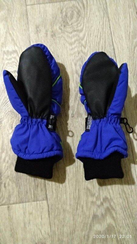 Рукавицы краги перчатки 6-7 лет 116-122 см рост kids германия