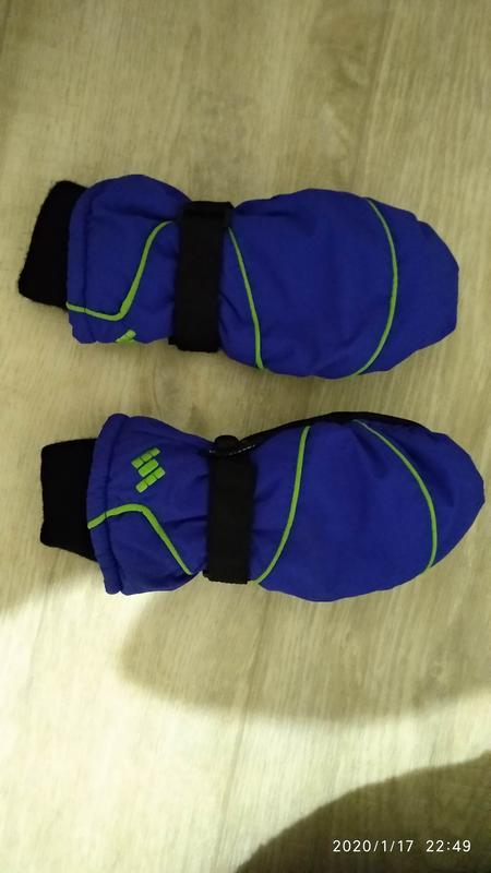 Рукавицы краги перчатки 6-7 лет 116-122 см рост kids германия - Фото 2