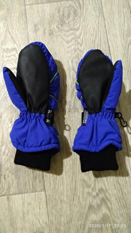Рукавицы краги перчатки 6-7 лет 116-122 см рост kids германия - Фото 4