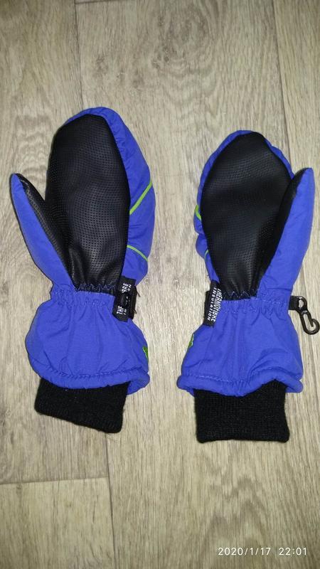 Рукавицы краги перчатки 6-7 лет 116-122 см рост kids германия - Фото 7