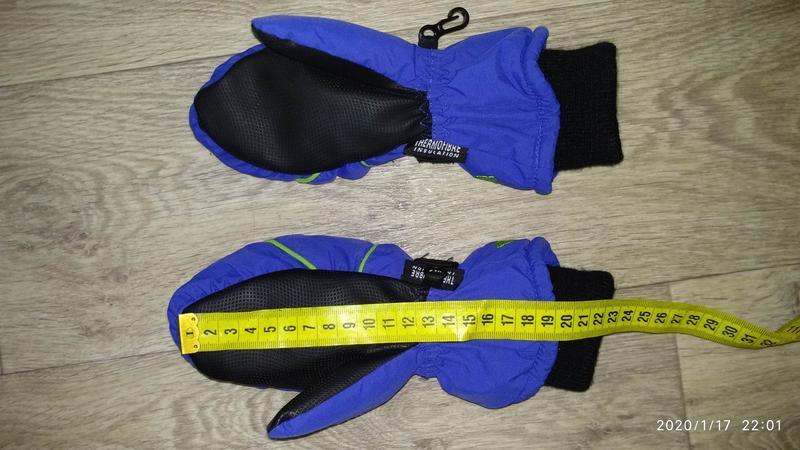 Рукавицы краги перчатки 6-7 лет 116-122 см рост kids германия - Фото 9