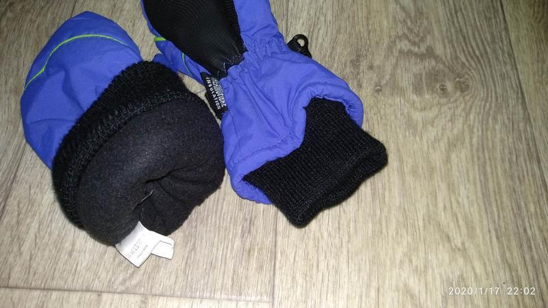 Рукавицы краги перчатки 6-7 лет 116-122 см рост kids германия - Фото 10