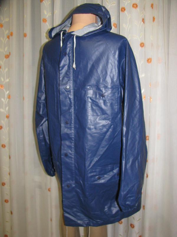 Куртка ветровка дождевик m размер 46-48 рыбацкий - Фото 3