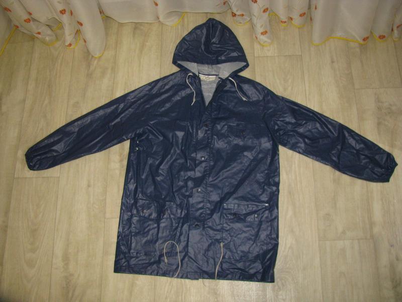 Куртка ветровка дождевик m размер 46-48 рыбацкий - Фото 4