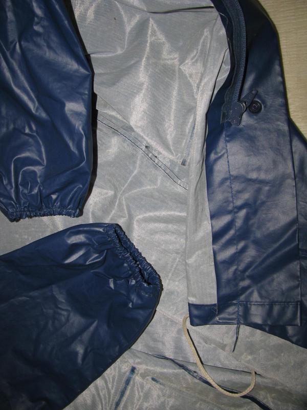 Куртка ветровка дождевик m размер 46-48 рыбацкий - Фото 8