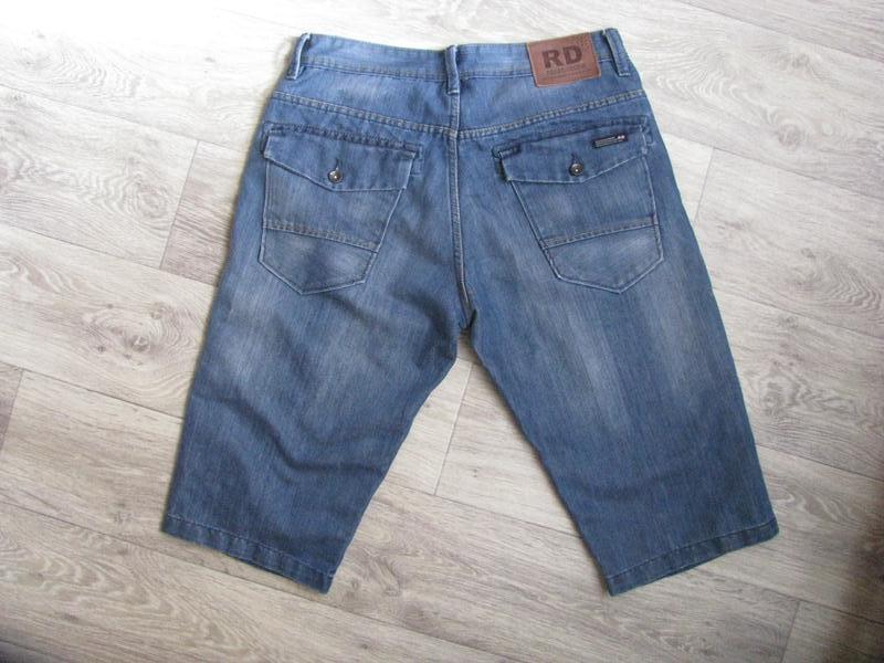 Шорты мужские джинсовые m размер - Фото 2