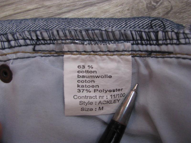 Шорты мужские джинсовые m размер - Фото 6