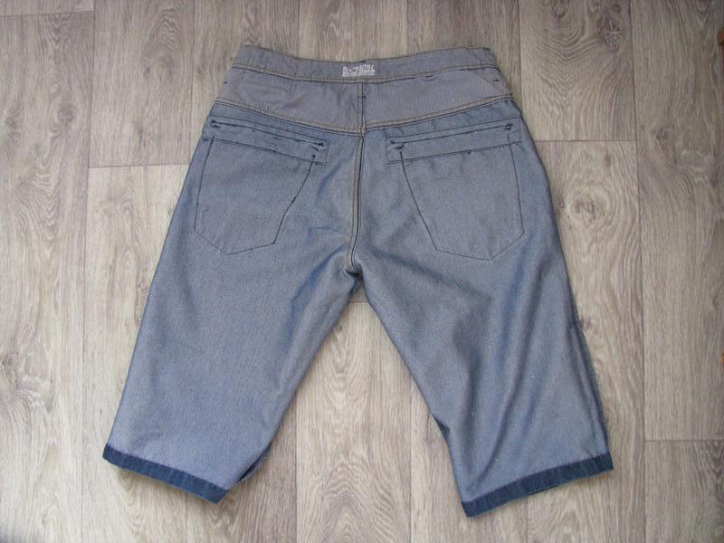 Шорты мужские джинсовые m размер - Фото 7