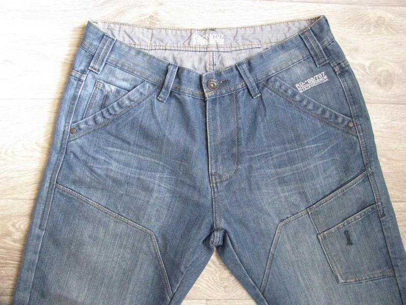 Шорты мужские джинсовые m размер - Фото 9