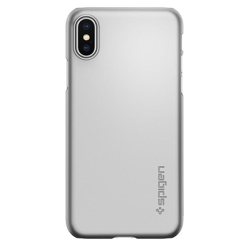 Оригинальный чехол spigen thin fit для iphone x xs - Фото 4
