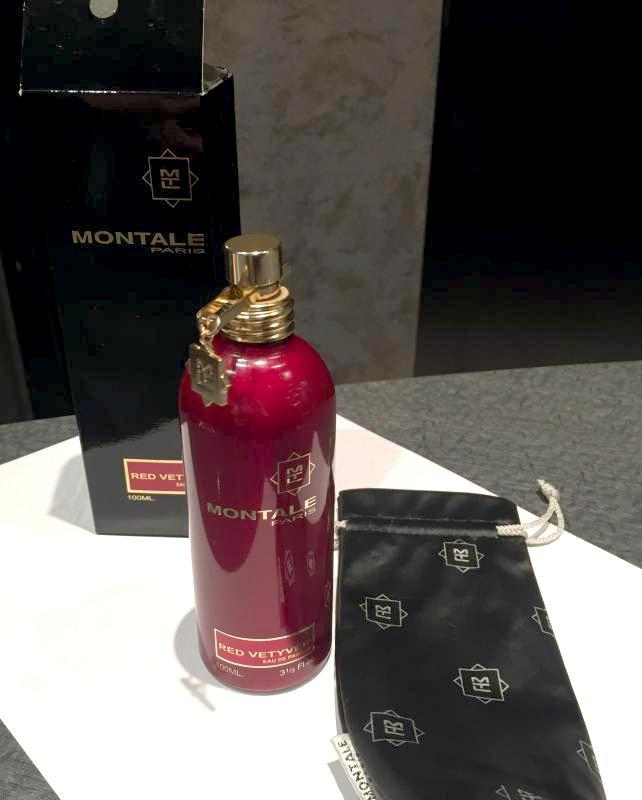 Montale  Red Vetyver_Оригинал Eau de Parfum 10 мл - Фото 4