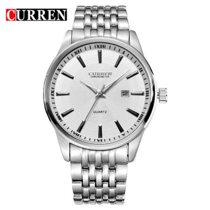 Часы наручные мужские CURREN SilverWhiteMetal M186