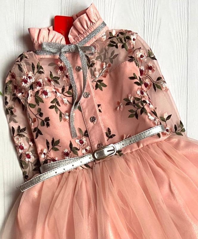 Очень красивое платье для девочки. - Фото 2