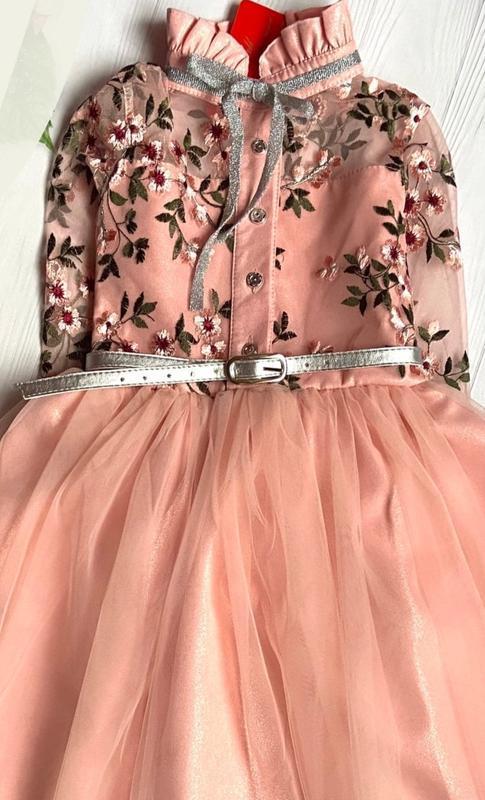 Очень красивое платье для девочки. - Фото 3