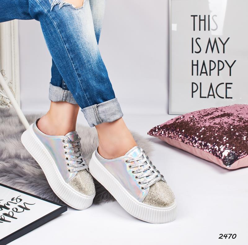 Стильные кроссовки - Фото 4