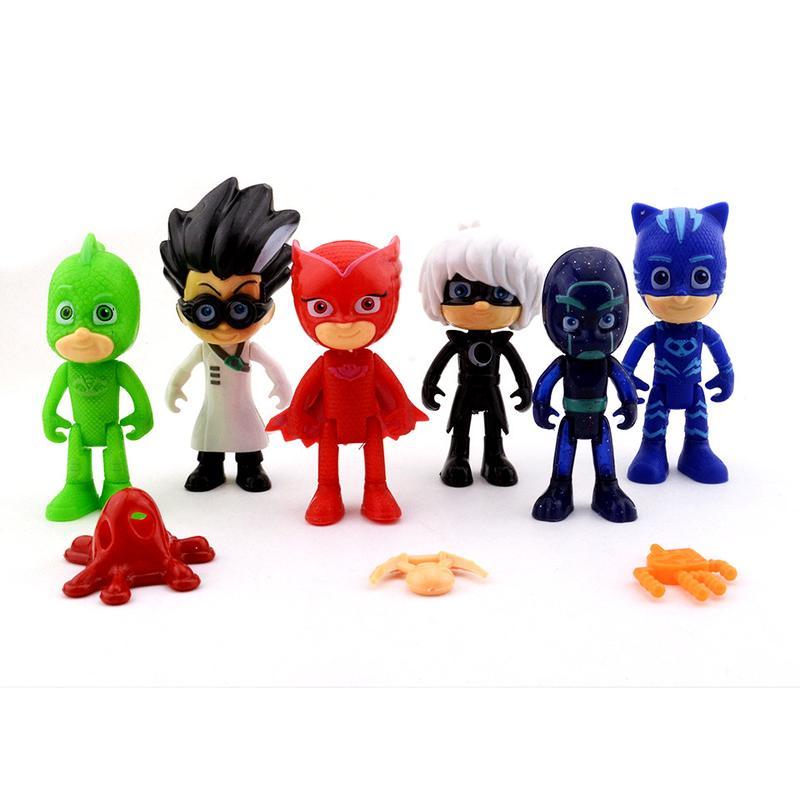 Игрушки Герои в масках , Кетбой, Гекко,