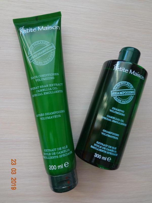 Набор безсульфатный шампунь и кондиционер от выпадения волос u...