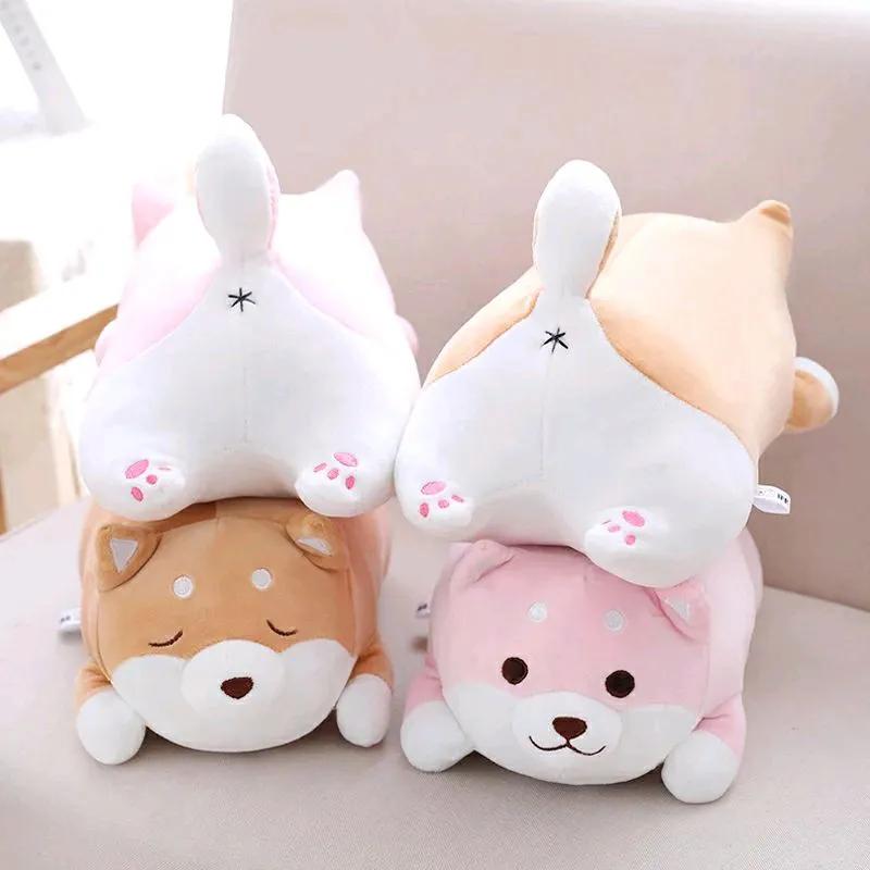 Новая мягкая игрушка подушка собака Шиба Ину 50см собачка подарок - Фото 3