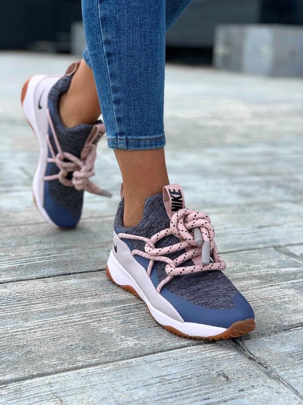 Nike city loop pink шикарные женские кроссовки найк сити луп - Фото 2