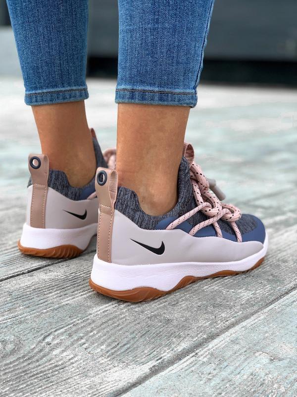 Nike city loop pink шикарные женские кроссовки найк сити луп - Фото 3