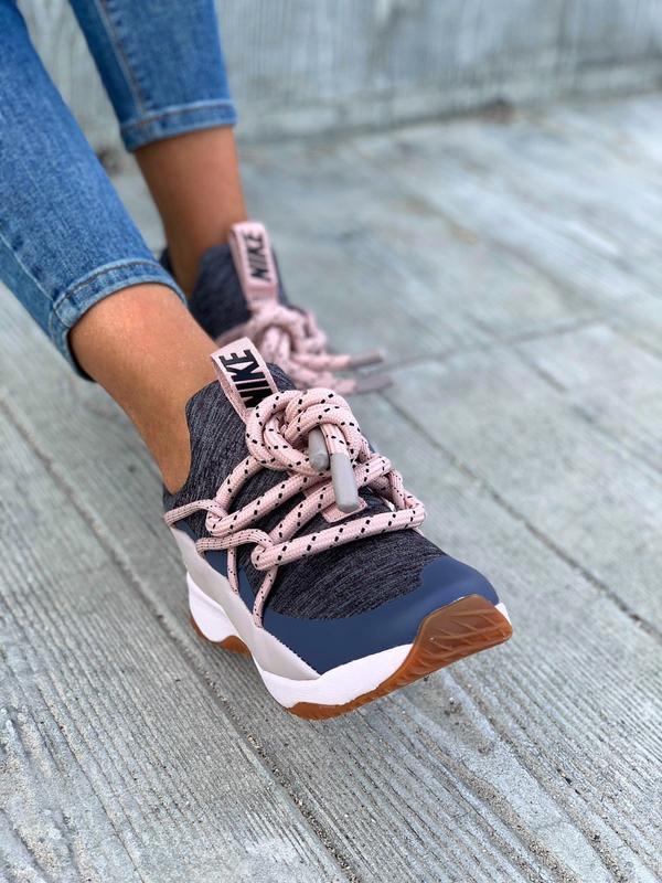 Nike city loop pink шикарные женские кроссовки найк сити луп - Фото 4