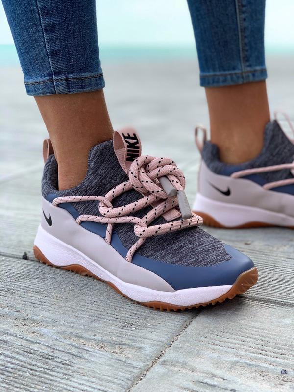Nike city loop pink шикарные женские кроссовки найк сити луп - Фото 6