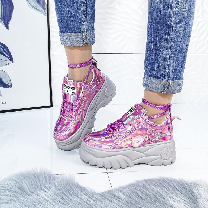 Красивенные розовые кроссы - Фото 2