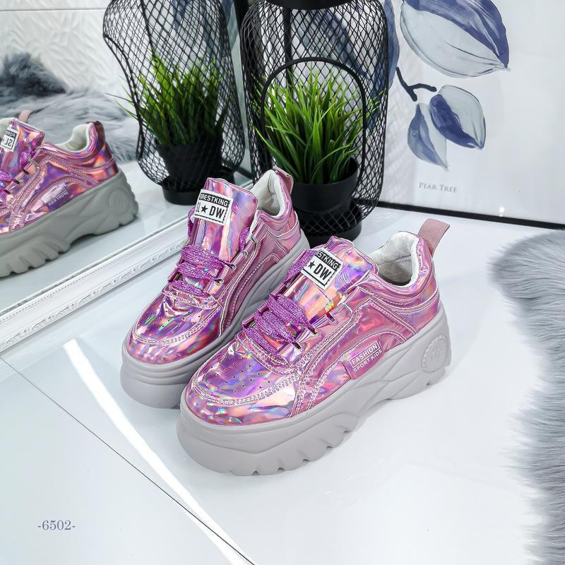 Красивенные розовые кроссы - Фото 3