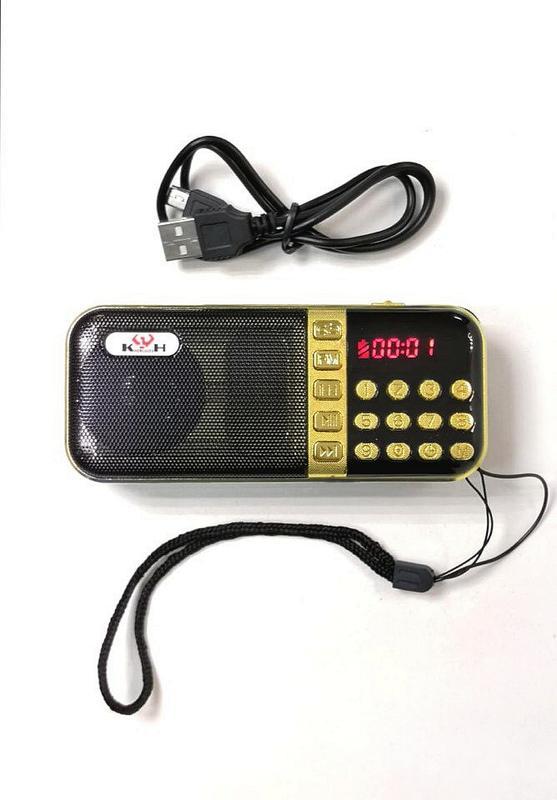 Колонка радио Mp3 TEXnano TE-163