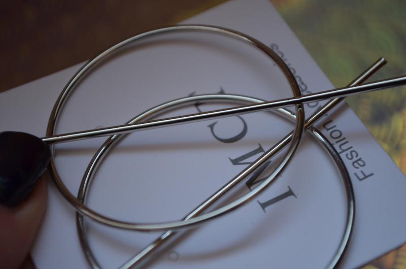 Новые серьги кольца необычные серебро серебристые серебряные к... - Фото 2