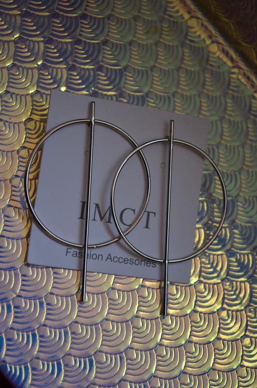Новые серьги кольца необычные серебро серебристые серебряные к... - Фото 4