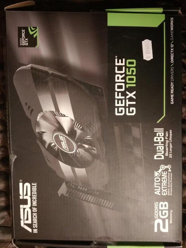 Asus PCI-Ex GeForce GTX 1050 Phoenix 2GB GDDR5 - Фото 2
