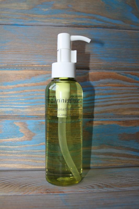 Гидрофильное масло innisfree apple seed cleansing oil - Фото 2