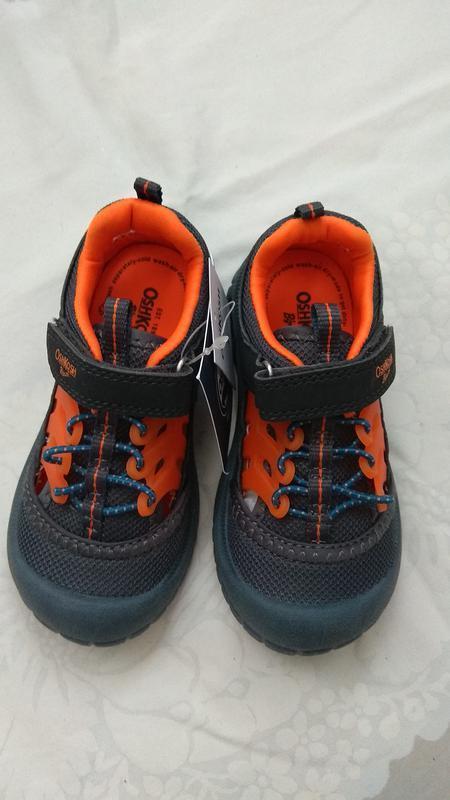 Сандалии детские oshkosh eur 24 27 спортивные сандалии босоножки - Фото 4