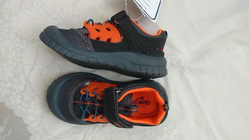 Сандалии детские oshkosh eur 24 27 спортивные сандалии босоножки - Фото 5