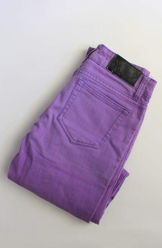 Джинсы фиолетовые,винтаж