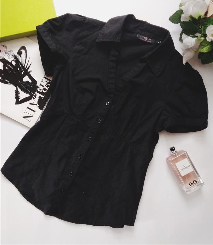 Чёрная рубашке блузка распродажа