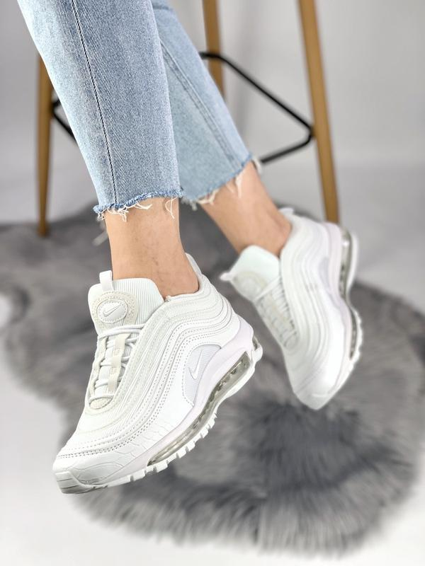 Cтильные кроссовки 🔥 nike air max 97 white 🔥 - Фото 4