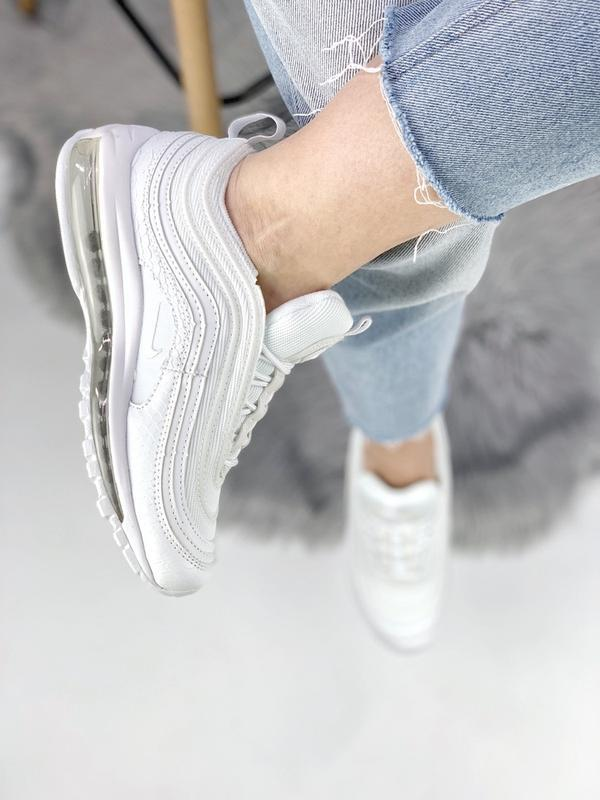 Cтильные кроссовки 🔥 nike air max 97 white 🔥 - Фото 5