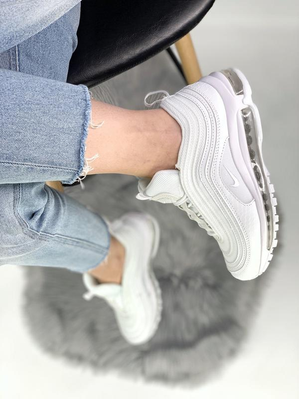 Cтильные кроссовки 🔥 nike air max 97 white 🔥 - Фото 6