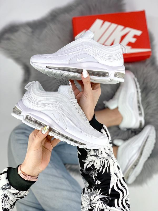 Cтильные кроссовки 🔥 nike air max 97 white 🔥 - Фото 7