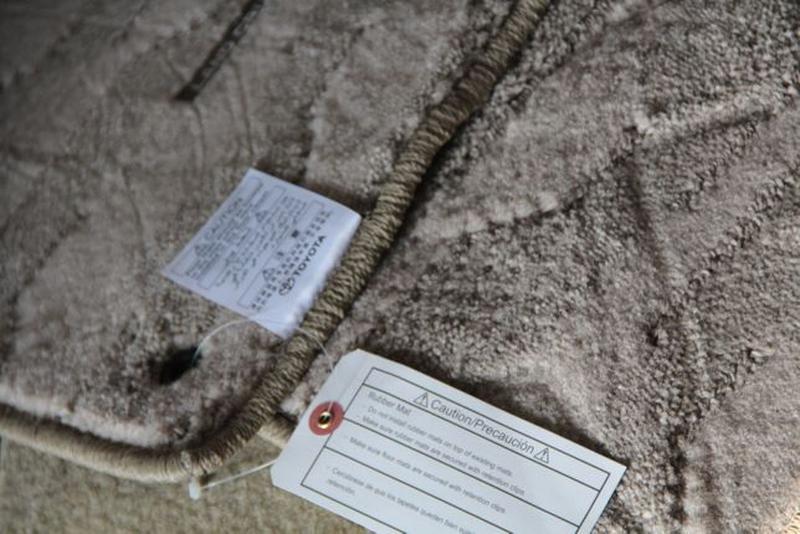 NEW! Оригинальные коврики в салон TOYOTA PRADO-120=150 фирменн...