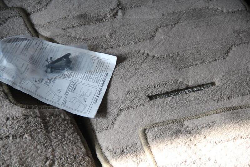 NEW! Оригинальные коврики в салон TOYOTA PRADO-120=150 фирменн... - Фото 4