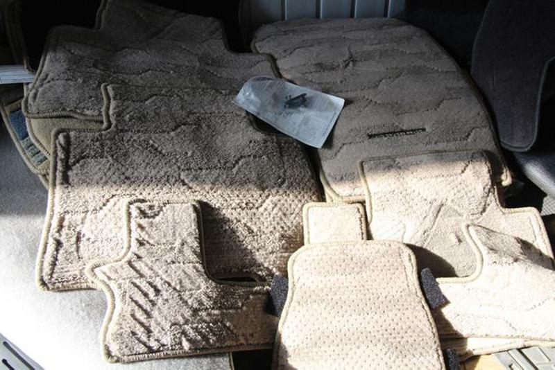 NEW! Оригинальные коврики в салон TOYOTA PRADO-120=150 фирменн... - Фото 5